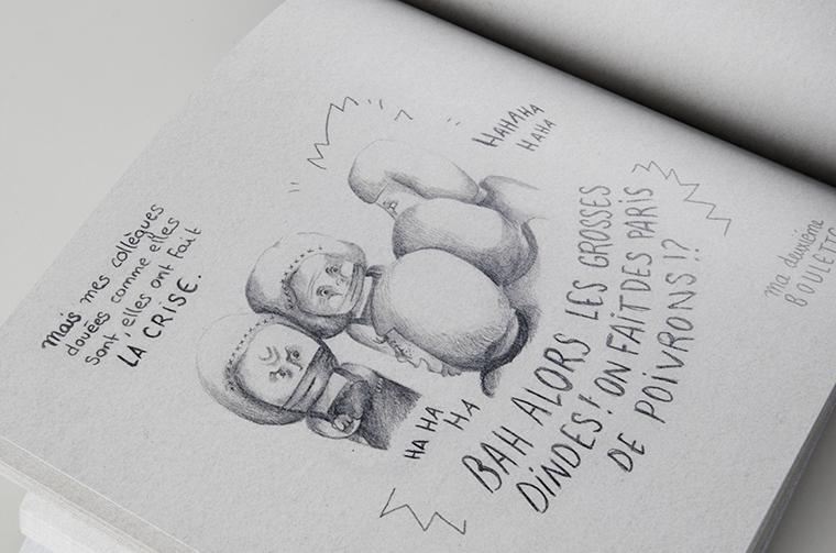 dindes-aux-brochettes-bande-dessinee-histoire-guerre-bd-usine-caroline-chauveau-carre-carreaux-line